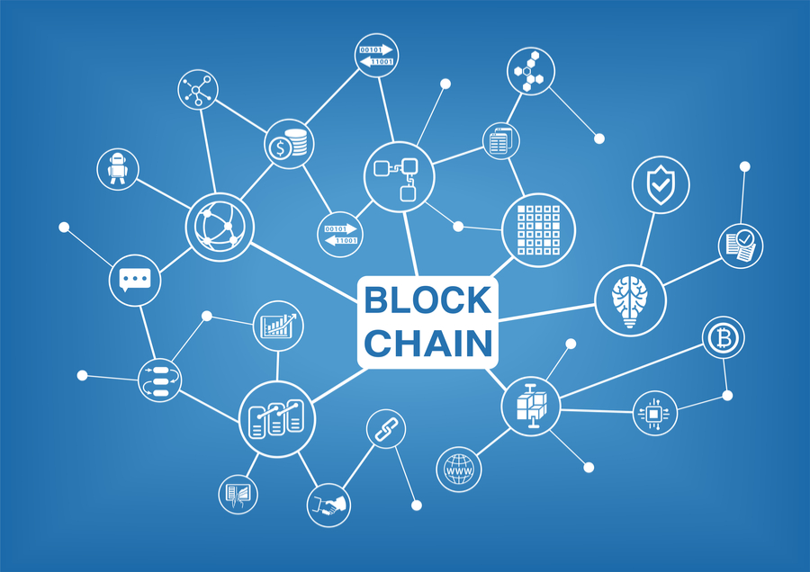 Blockchain имеет сложную структуру. напоминающую паутину.