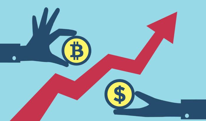 Обмен криптовалюты на обычные деньги стал обычным явлением