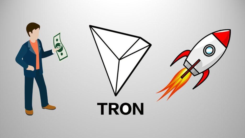 Появление крупных инвесторов сыграли на увеличении курса TRON