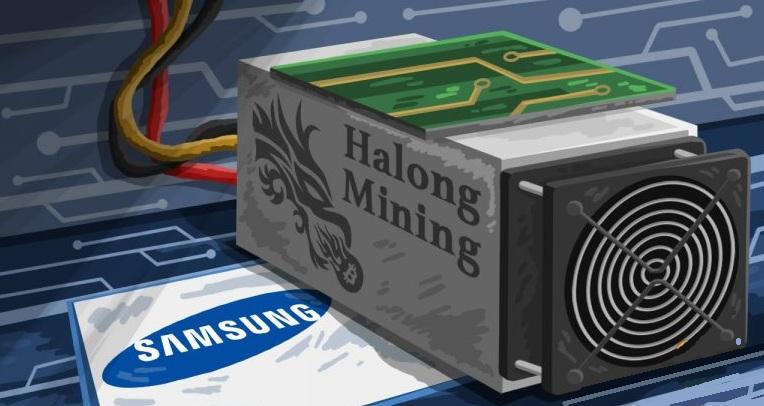 Даже Самсунг занимается производством асик-чипов для майнеров биткоина
