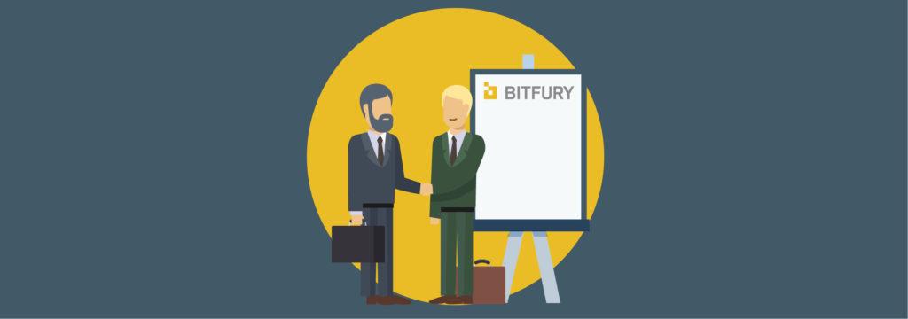 Компания Bitfury - крупнейший производитель ПО и оборудования для криптовалют и блокчейна в целом.