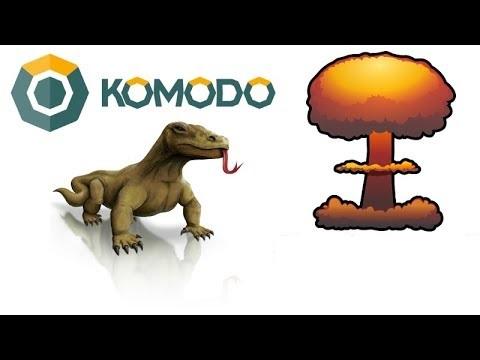 Криптовалюта Komodo берет свое название от ящера Комодо