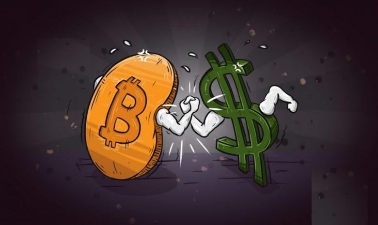Биткоин - это цифровая валюта, превосходящая фиатные валюты с их преимуществами.