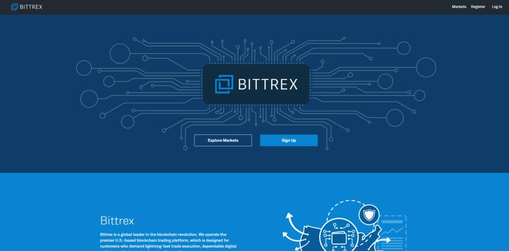 На торговой площадке Bittrex работает огромное количество пользователей
