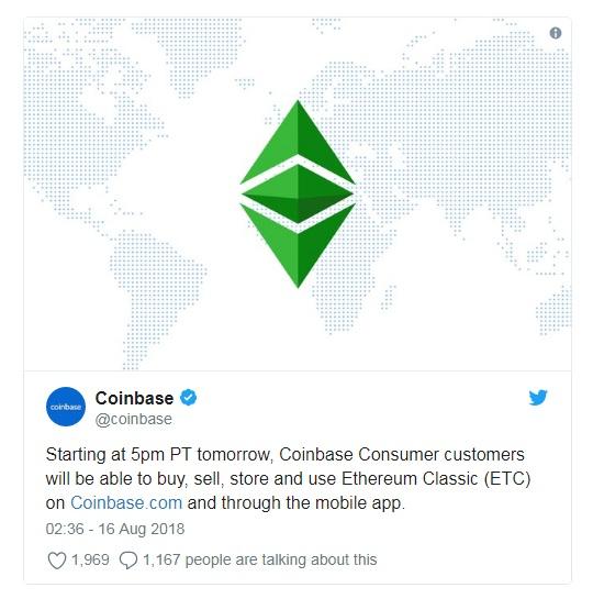 Валюта ETC