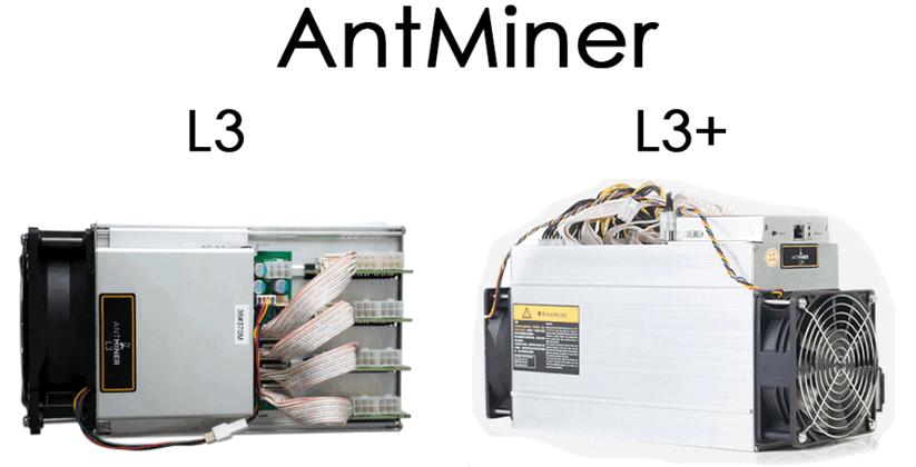 Antminer L3+ и L3