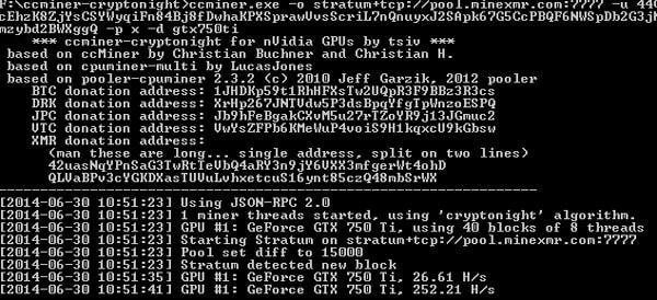 Программа майнер для nvidia monero
