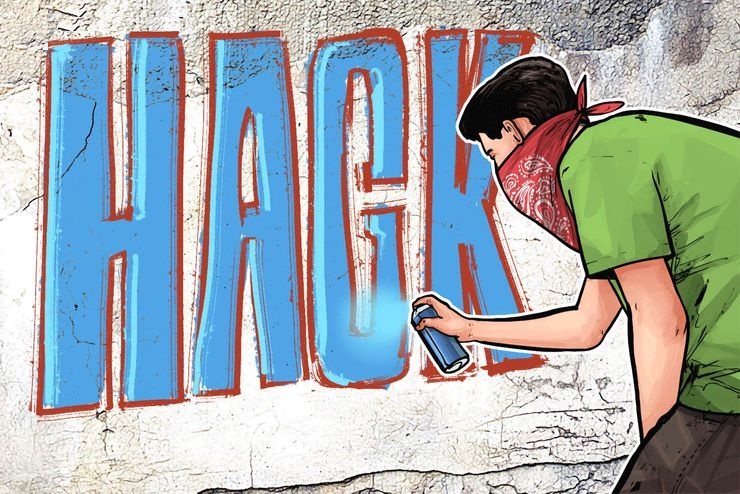 Хакерские акции по-русски