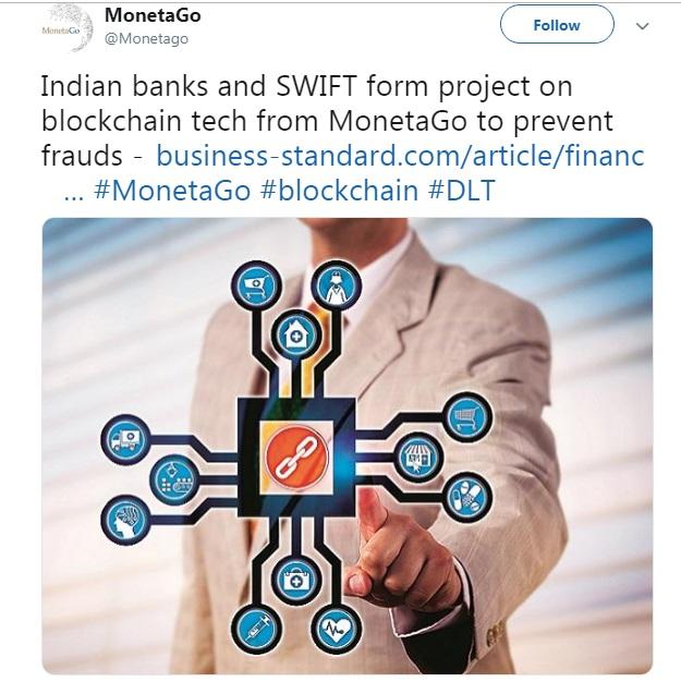 Проект по технологии blockchain от MonetaGo