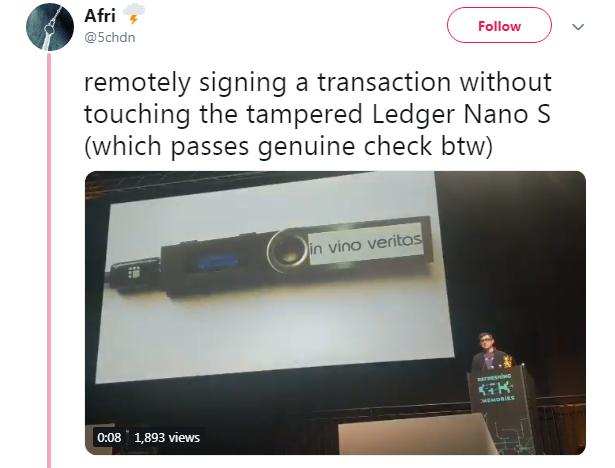Подписание транзакции