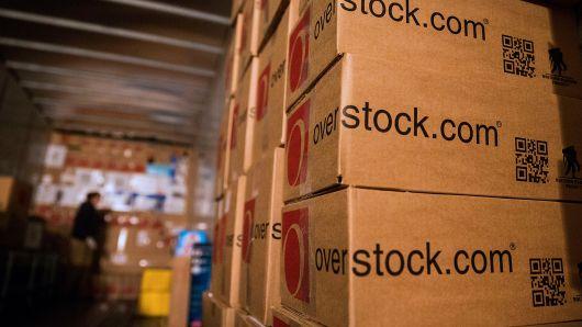 Налоги в биткоинах от Overstock