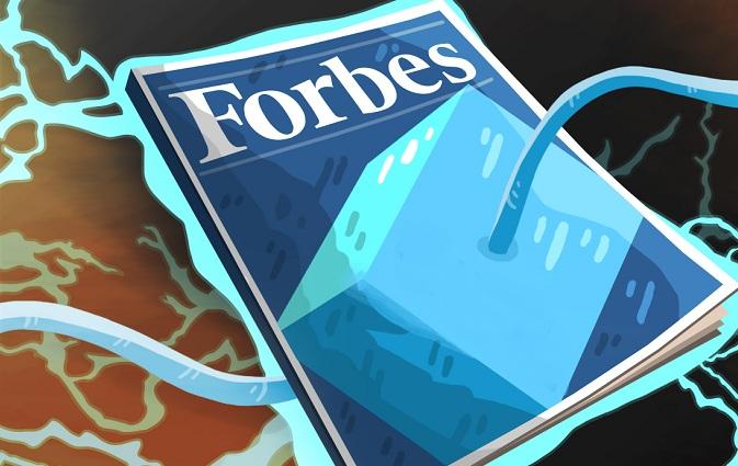 Блокчейн стартапы от Форбс