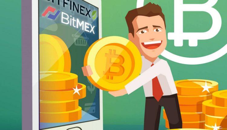 Биржа BitMEX доминирует на рынке финансовых продукто