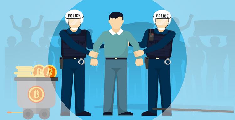 Арест криптомайнеров