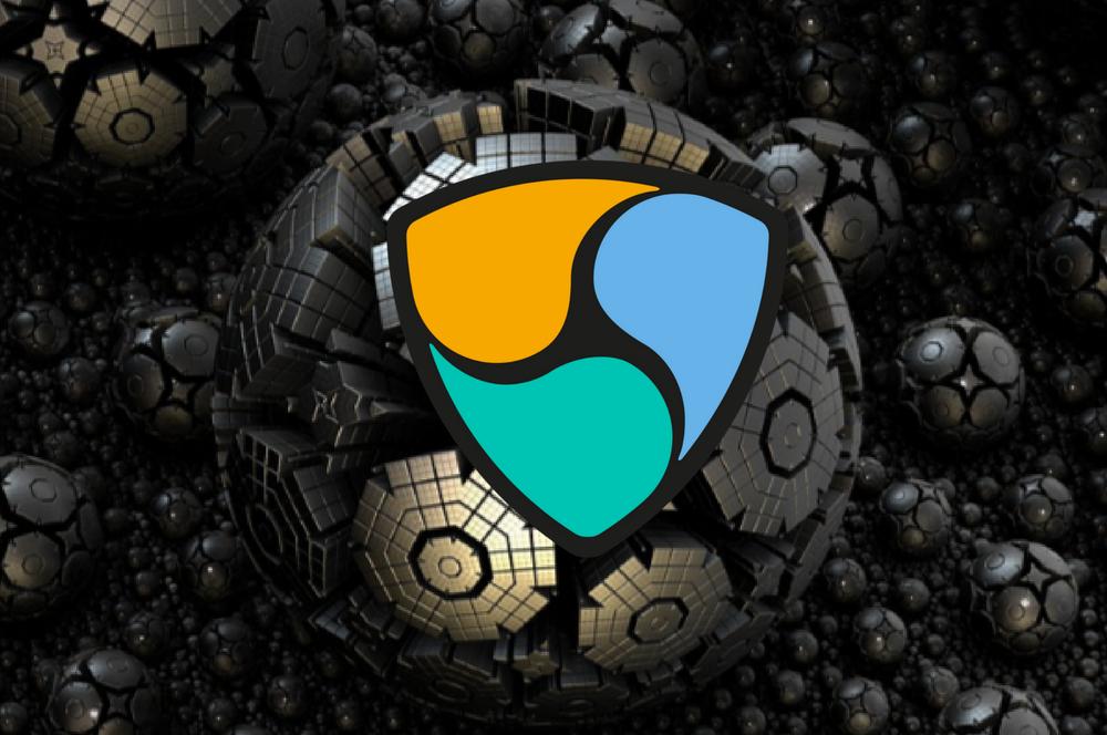 Логотип XEM