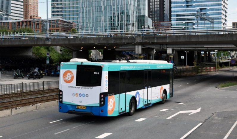 Оплата биткоином в автобусах