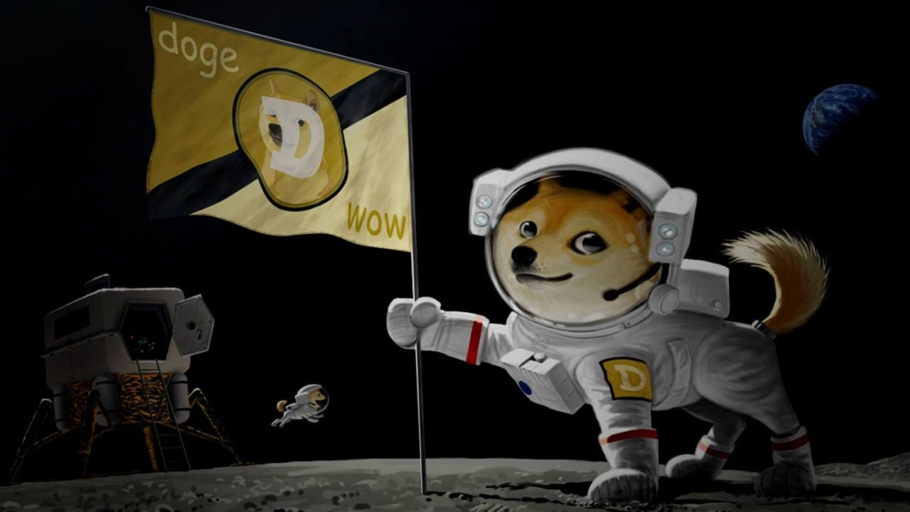 Doge's to the moon… Why no?