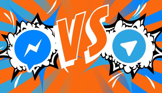 Facebook против Telegram