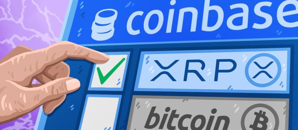 Криптобиржа Coinbase будет использовать XRP и USDC