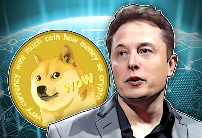Илон Маск любит Dogecoin
