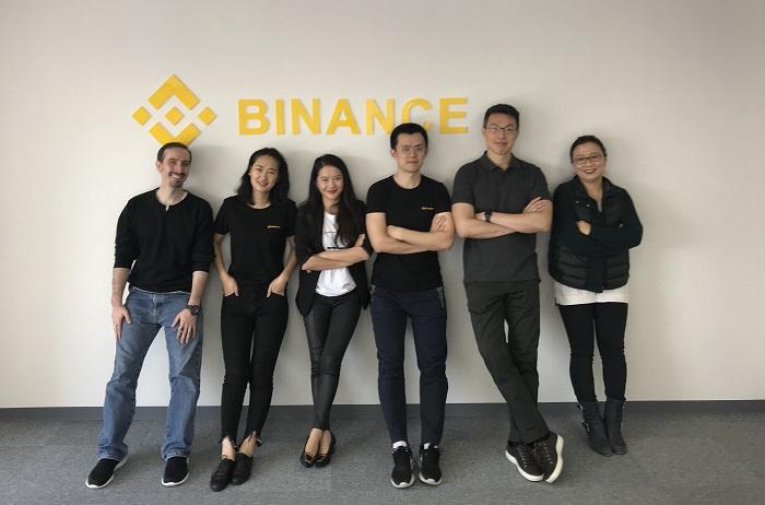 Дружная команда Binance