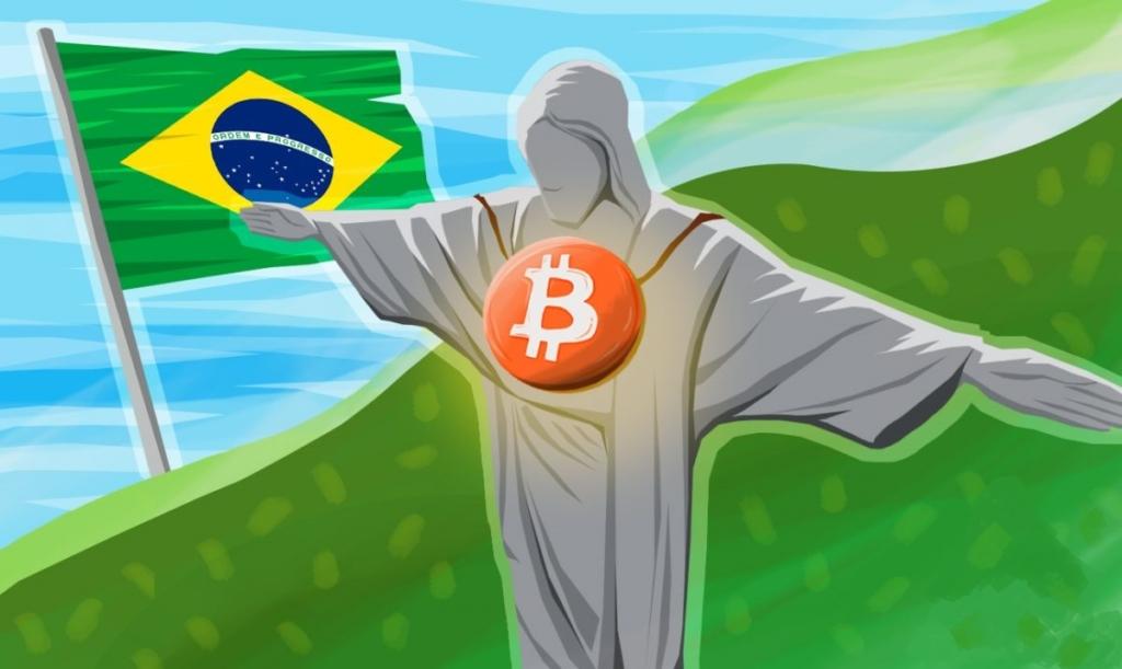 Бразилия лидирует по обороту биткоина