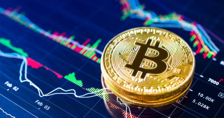 Рост объема торгов биткоином
