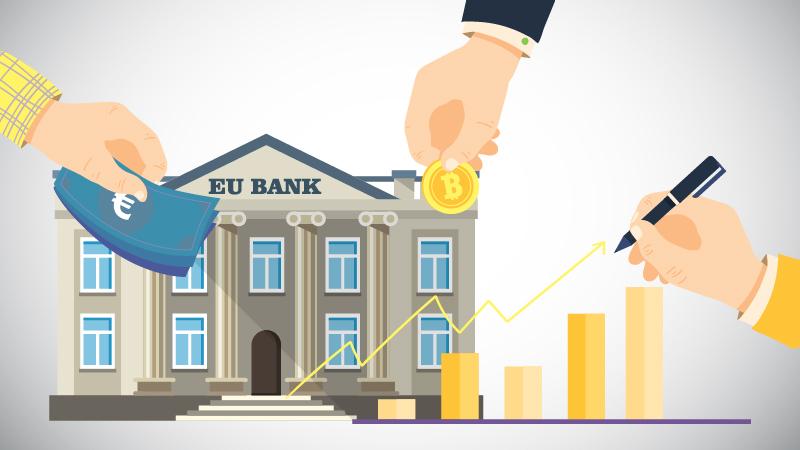 Криптовалюта в еврозоне