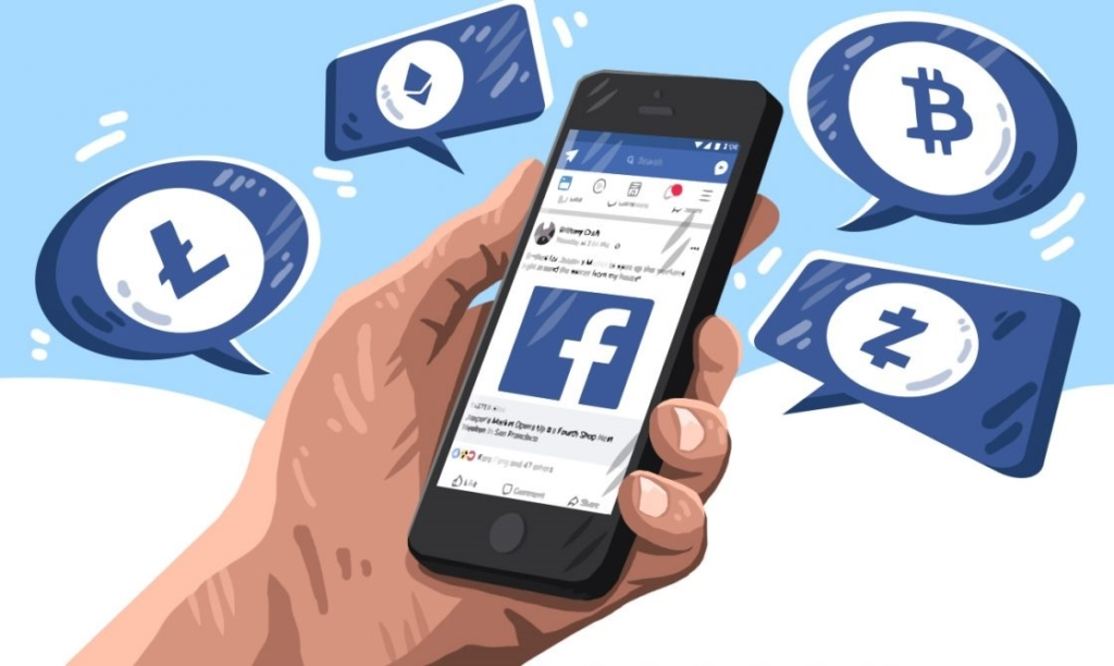Анонс выпуска криптовалют Facebook