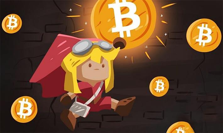 Bitcoin в играх