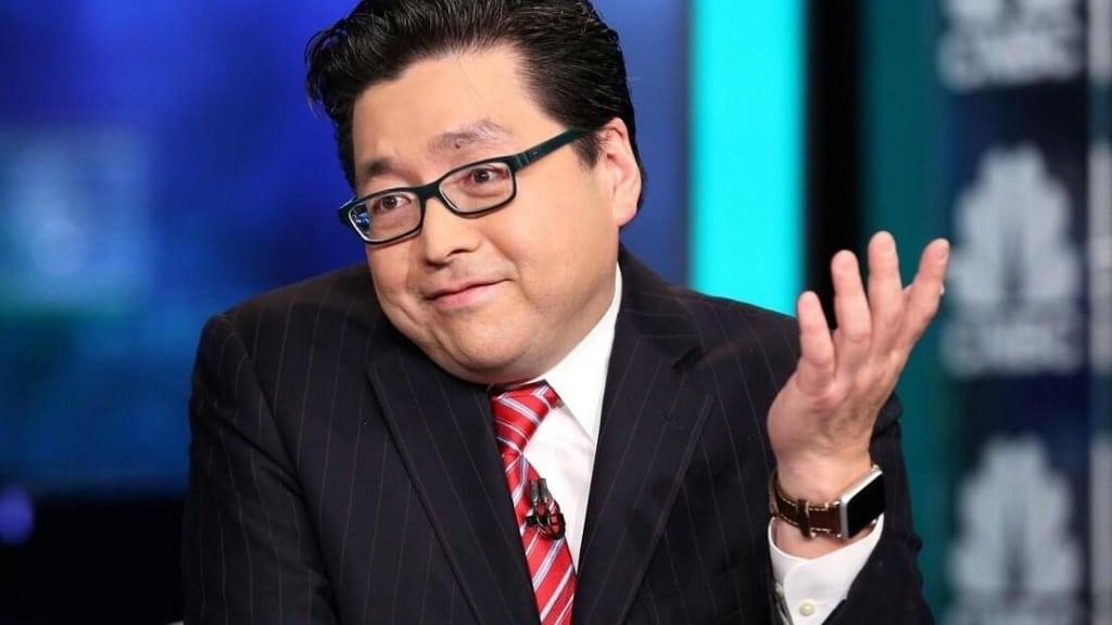 Том Ли, член руководящего состава Fundstrat Global Advisors