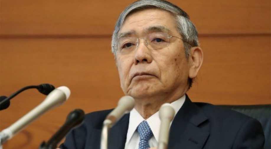 Харухико Курода, глава японского Центробанка