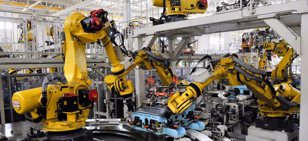 Умные роботы в технологическом производстве