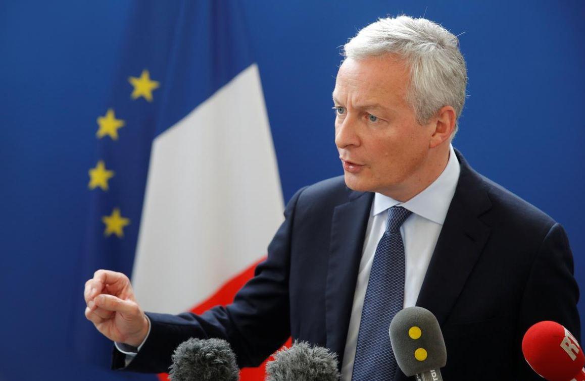 Брюно Ле Мэр, министр финансов и экономики Франции