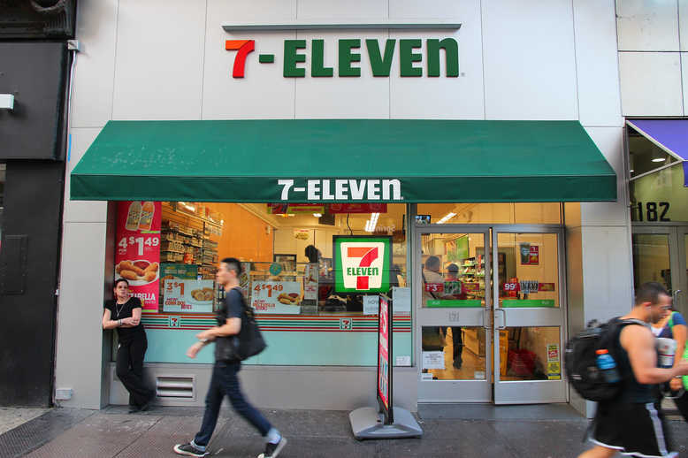 Магазины 7-Eleven