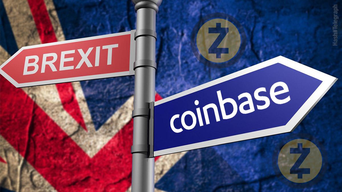 Coinbase может перевести счета из-за Brexit