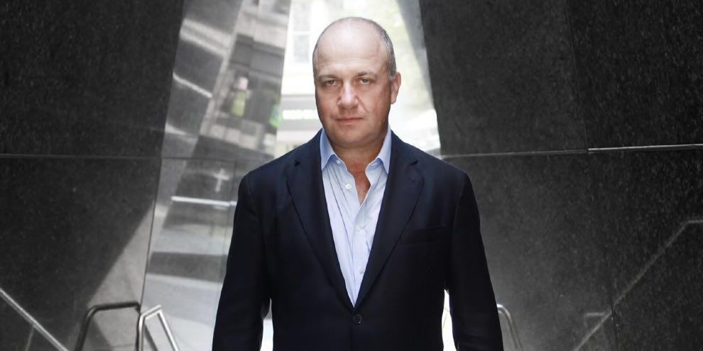 Дэнни Мастерс, председатель компании CoinShares