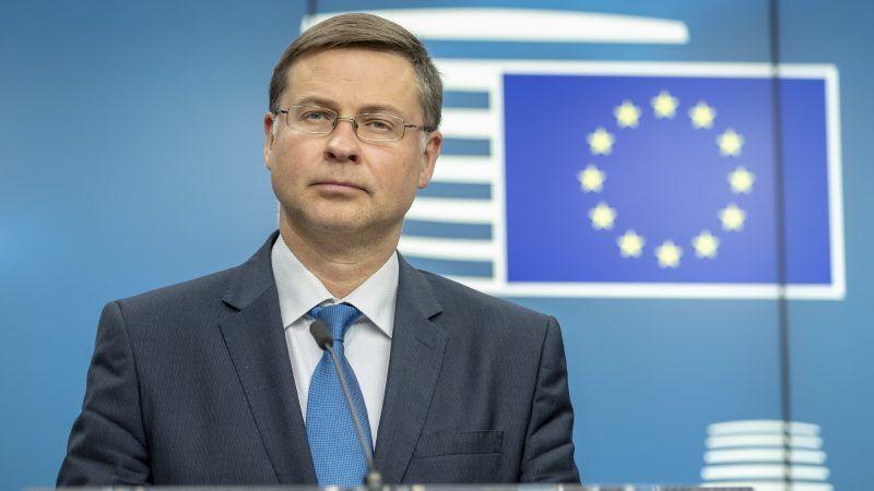 Валдис Домбровскис, экс-премьер-министр Латвии