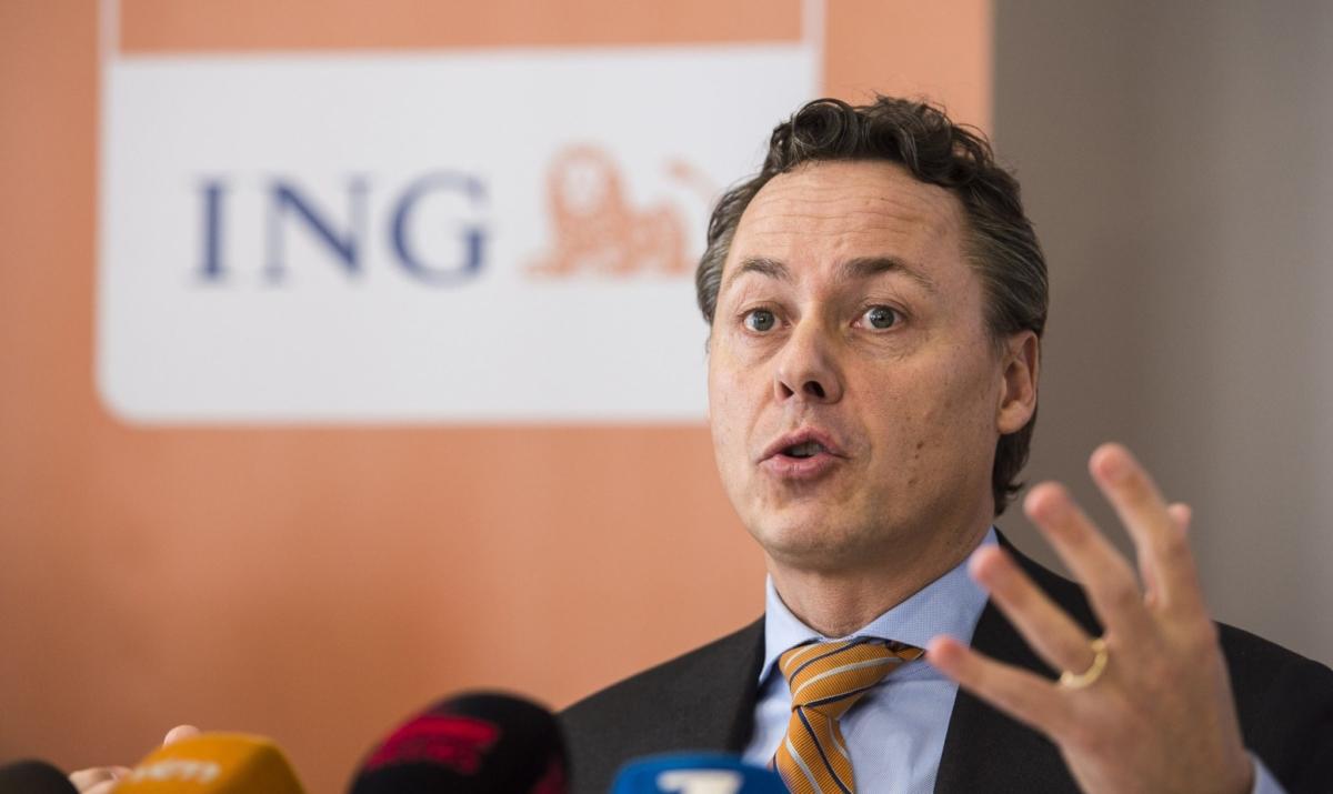 Ральф Хамерс, глава банка ING в Голландии