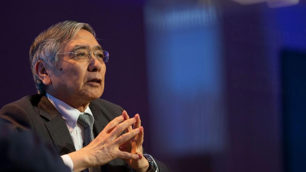Харухико Курода, глава японского центрального банка
