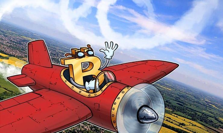 Объем транзакций в Bitcoin в сутки составляет $2,33 млрд.