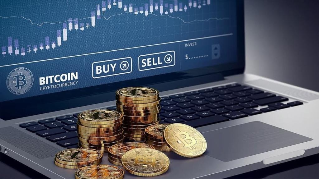 Торговля на биржах биткоин
