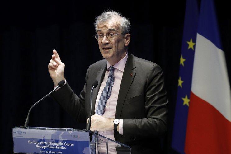 Глава Банка Франции Франсуа Виллеруа де Гало