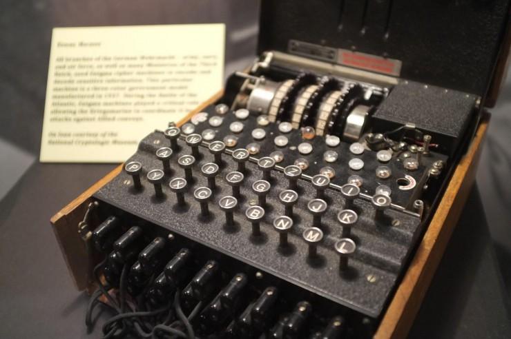 Как выглядели криптографы в былые времена