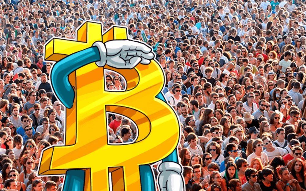 Количество владельцев BTC в мире превышает 23 млн. человек