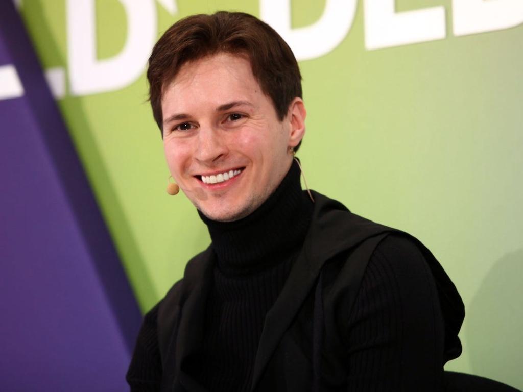 Павел Дуров, владелец компании Telegram