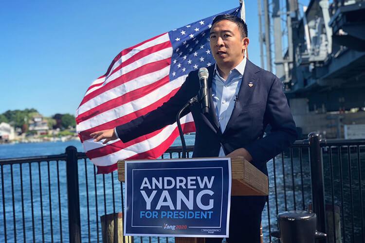 Эндрю Янг, кандидат на пост президента США от партии демократов