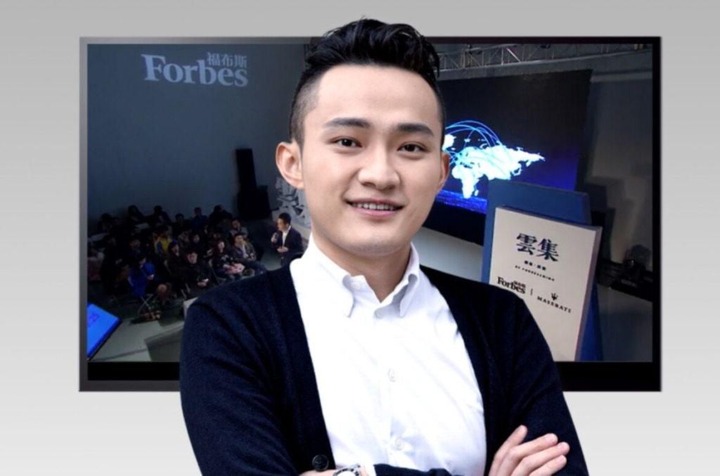 Джастин Сан, основатель блокчейн-сети TRON