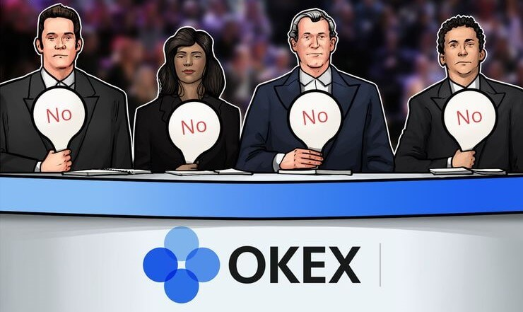 OKEx удаляет из листинга семь криптовалют