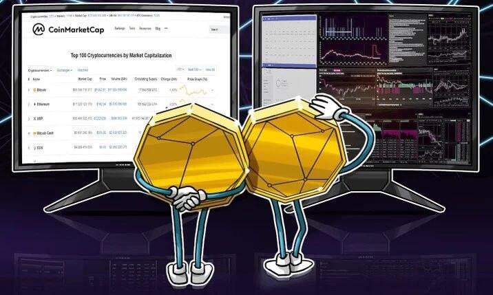 Binance вышла на первое место в рейтинге Coinmarketcap